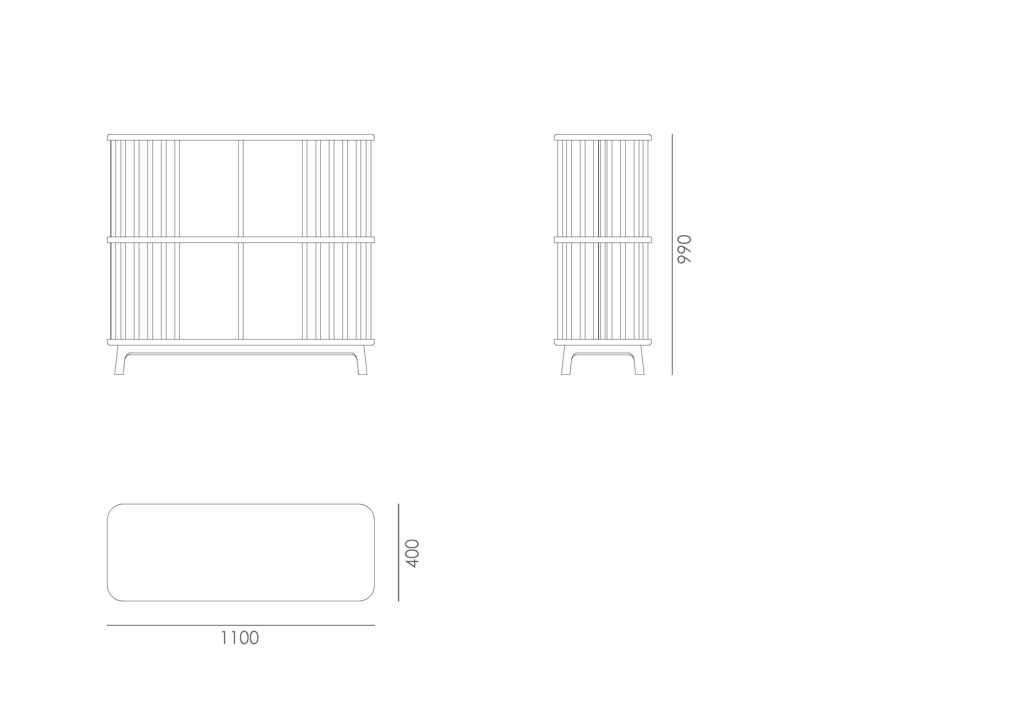 detail Bast Shelf