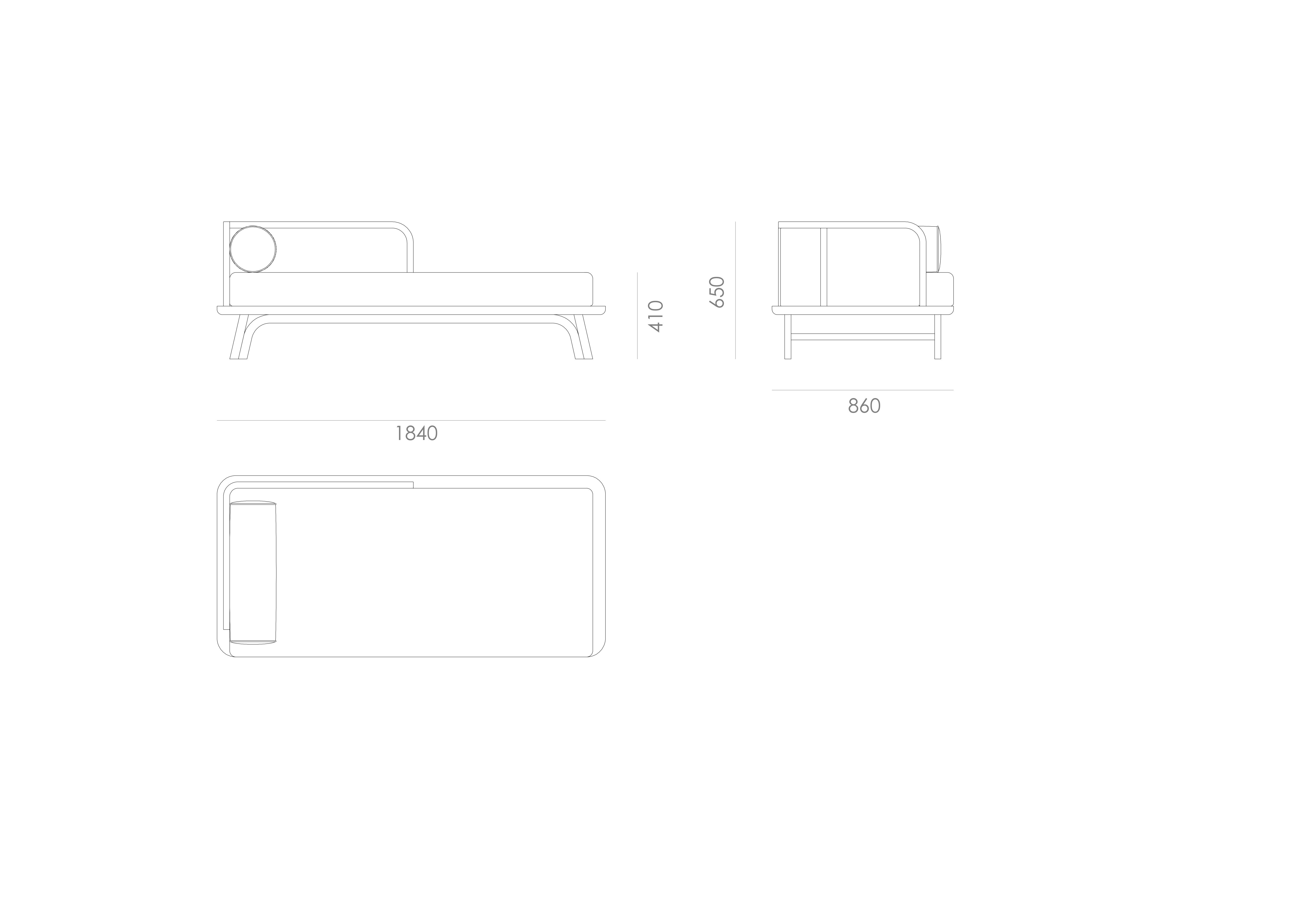 detail Testa Daybed 1:1 Collection